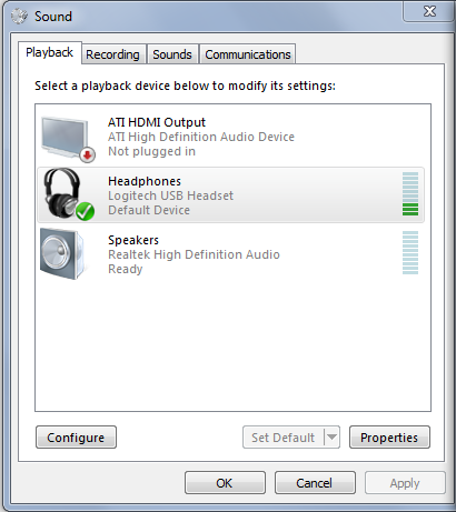 Disable headset enhancements in Windows 7/8